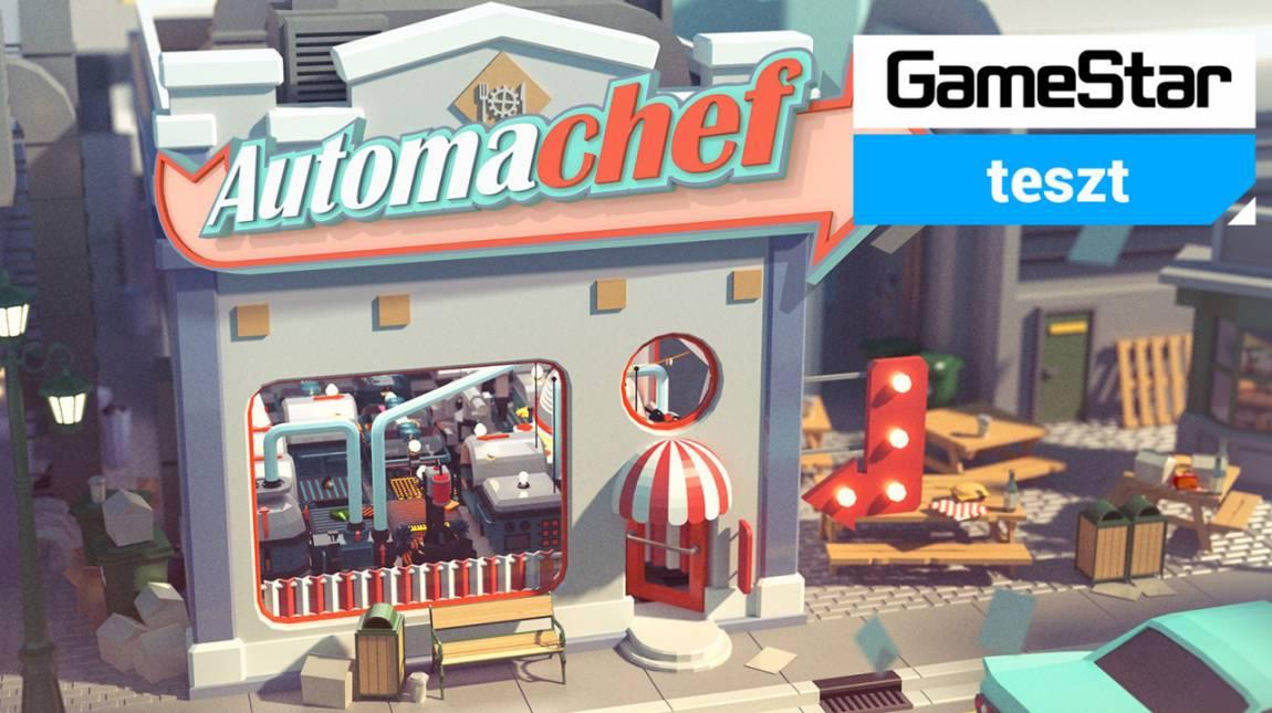 Automachef teszt - már a burgeredet is robotok rakják össze bevezetőkép