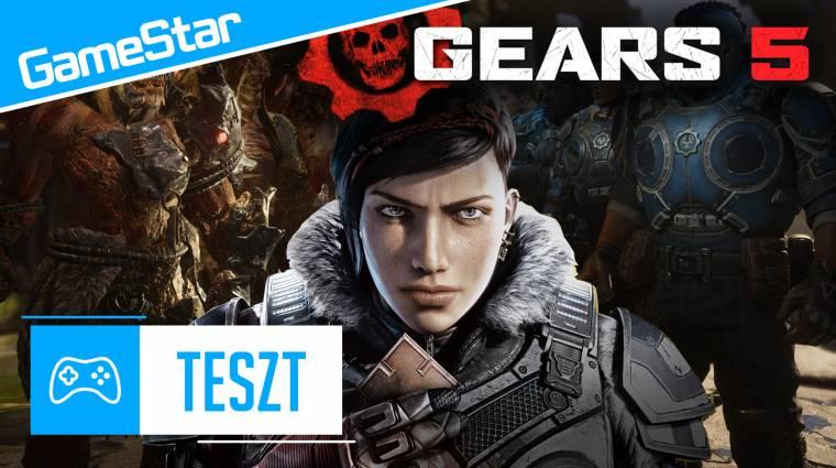 Gears 5 videoteszt - a háború örök bevezetőkép