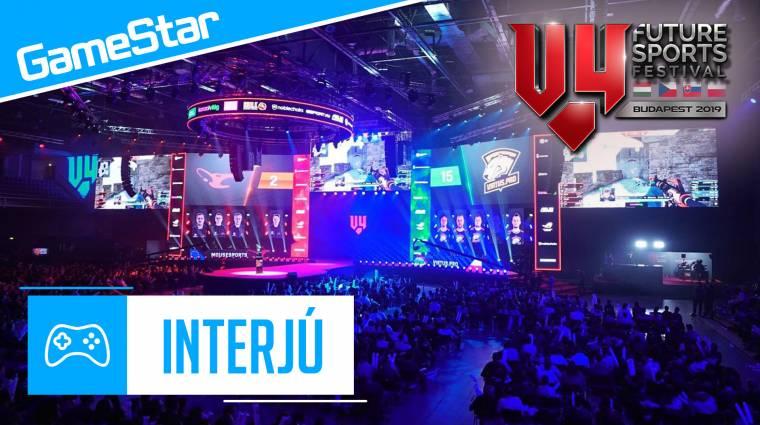 V4 Future Sports Festival - a világ legjobb e-sportolói ismét Budapestre látogatnak bevezetőkép