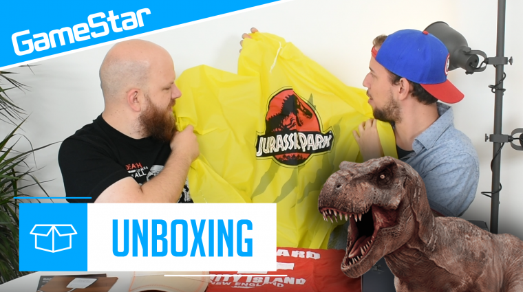 Wootbox augusztus unboxing - welcome to Jurassic Park bevezetőkép