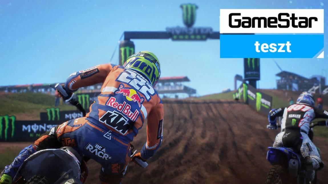 MXGP 2019 The Official Motocross Videogame teszt - itt aztán jól jön a sárvédő bevezetőkép