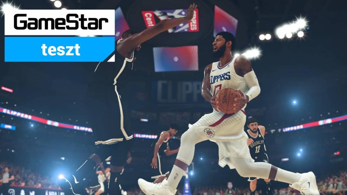 NBA 2K20 teszt - látványos kosárlabda mindenek felett bevezetőkép