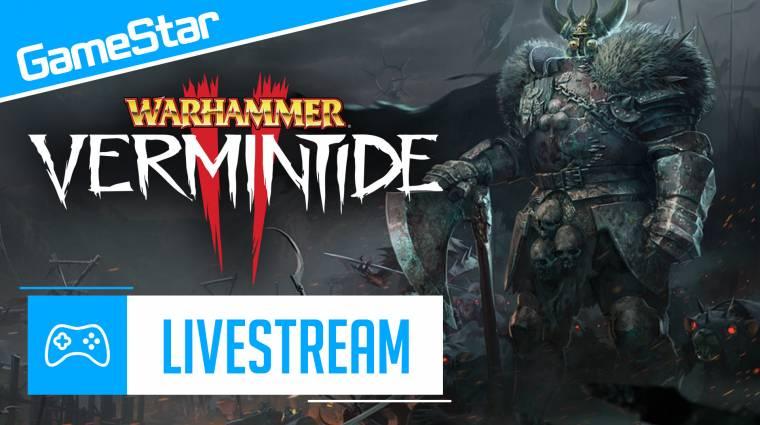 Warhammer: Vermintide 2 livestream - patkányokkal harcolhatsz az októberi GameStarral bevezetőkép