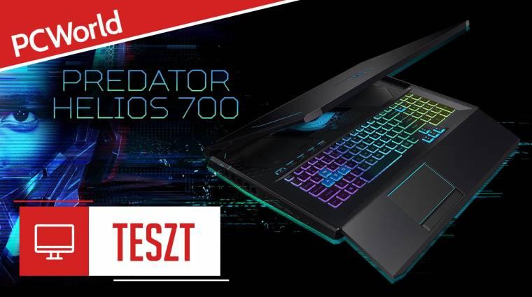 Acer Predator Helios 700 teszt - a gamer laptopok Optimus Prime-ja bevezetőkép