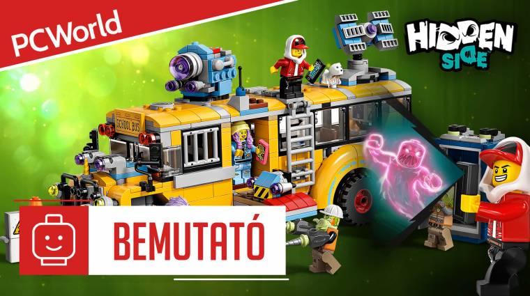 LEGO Hidden Side bemutató - szellemek támadtak az iskolabuszra kép