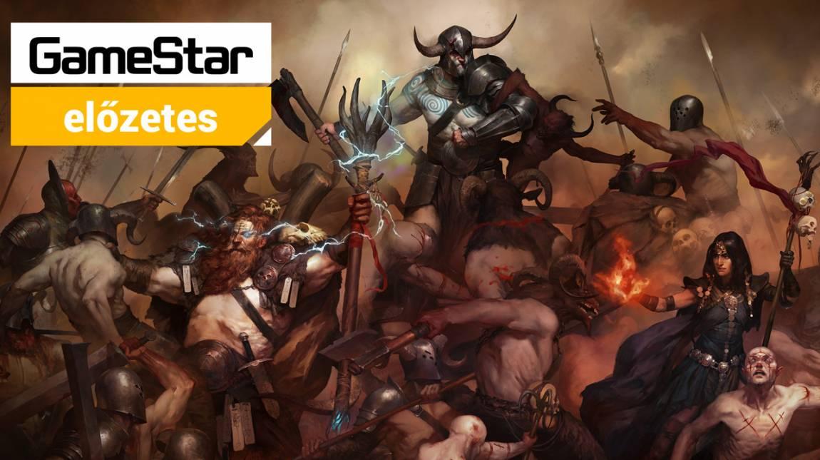 Diablo IV előzetes - sötét kalandok megújult köntösben bevezetőkép