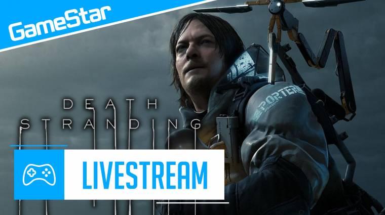 Death Stranding - végre kiderítjük, miről szól ez a játék bevezetőkép