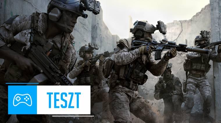 Call of Duty: Modern Warfare videoteszt - tíz éve nem volt ilyen jó bevezetőkép