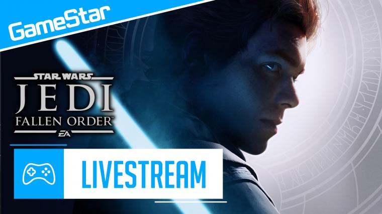Star Wars Jedi: Fallen Order livestream - az Erő legyen velünk! bevezetőkép