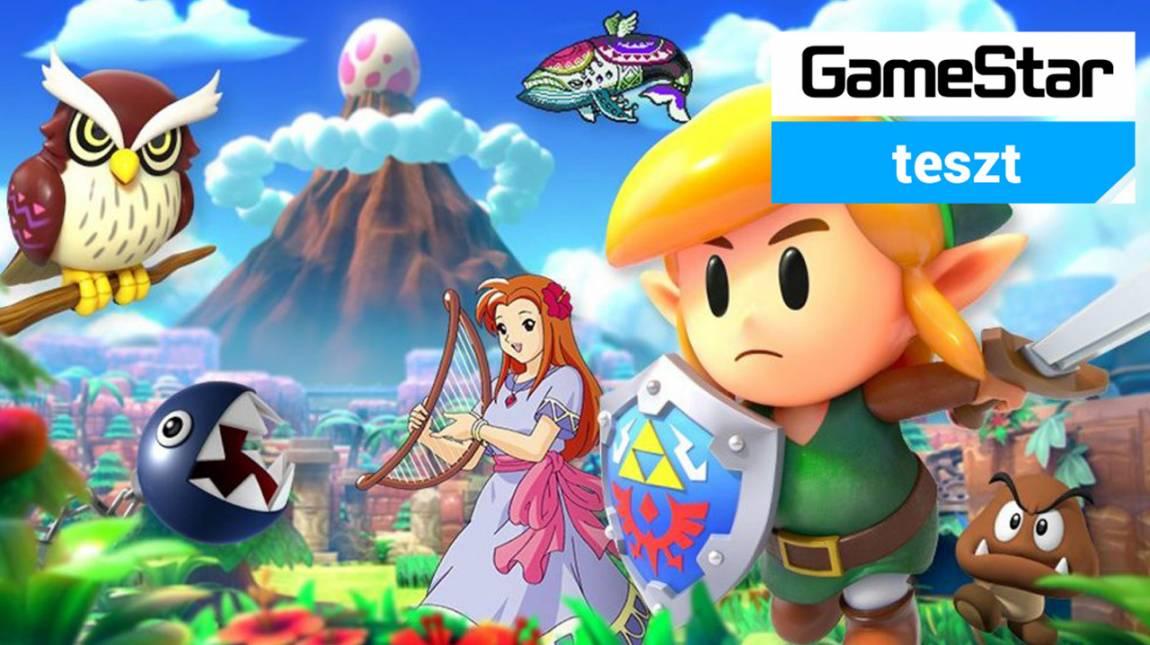 The Legend Of Zelda: Link's Awakening teszt - ujjé, a szigeten nagyszerű! bevezetőkép