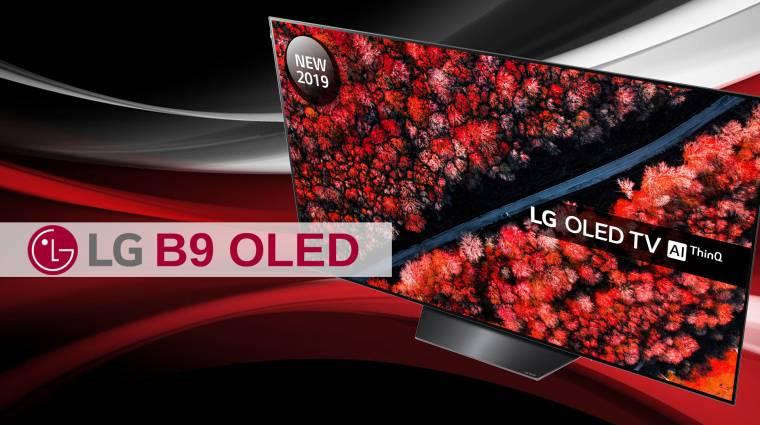 LG B9 OLED TV bemutató - papírvékony monstrum kép