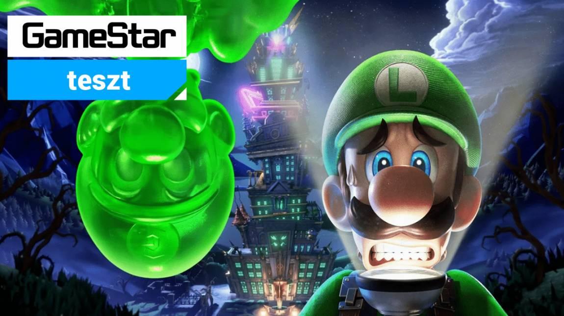 Luigi's Mansion 3 teszt - Szellemirtók? Ugyan már! Ektoplazma láttán Luigit kell hívni bevezetőkép