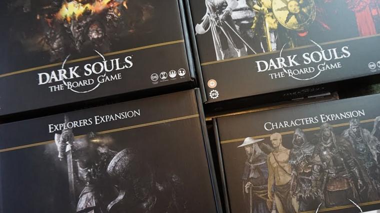 Négy doboznyi minifigura lapult a Dark Souls társasjáték kiegészítőiben bevezetőkép