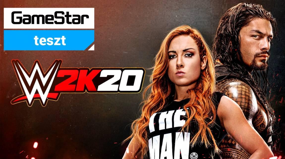 WWE 2K20 teszt - botrány a ringben bevezetőkép