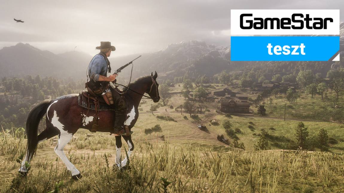 Red Dead Redemption 2 PC teszt - vadnyugati PC-s pompavilág bevezetőkép