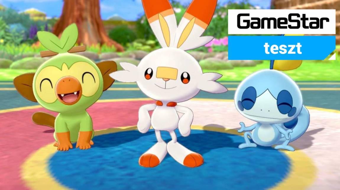 Pokémon Sword és Shield teszt - szerezd meg hát mind! bevezetőkép