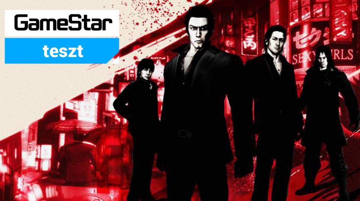 Yakuza 4 Remastered teszt - fantasztikus négyes japán módra bevezetőkép