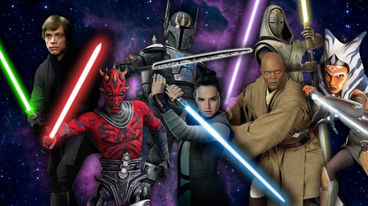 Mit jelentenek a fénykardok színei a Star Wars világában? bevezetőkép