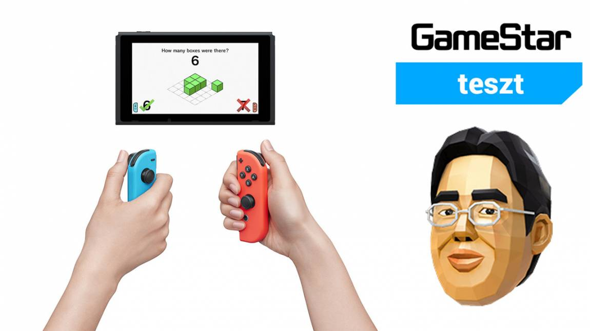 Dr Kawashima's Brain Training for Nintendo Switch teszt - nekem ne mondd, hogy 80 éves vagyok! bevezetőkép