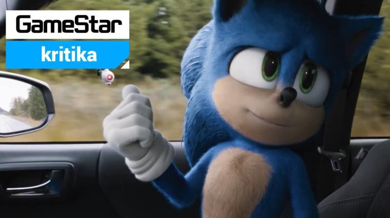 Sonic, a sündisznó kritika - száguldás szakadt cipőben bevezetőkép
