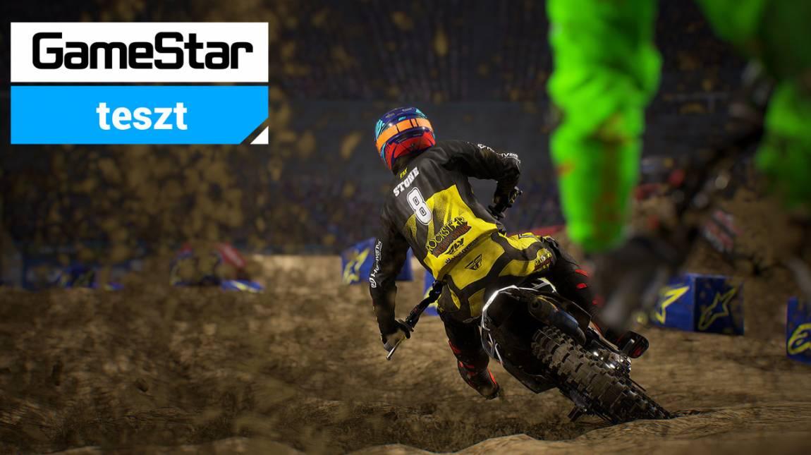 Monster Energy Supercross 3 teszt - mire elég az energia? bevezetőkép