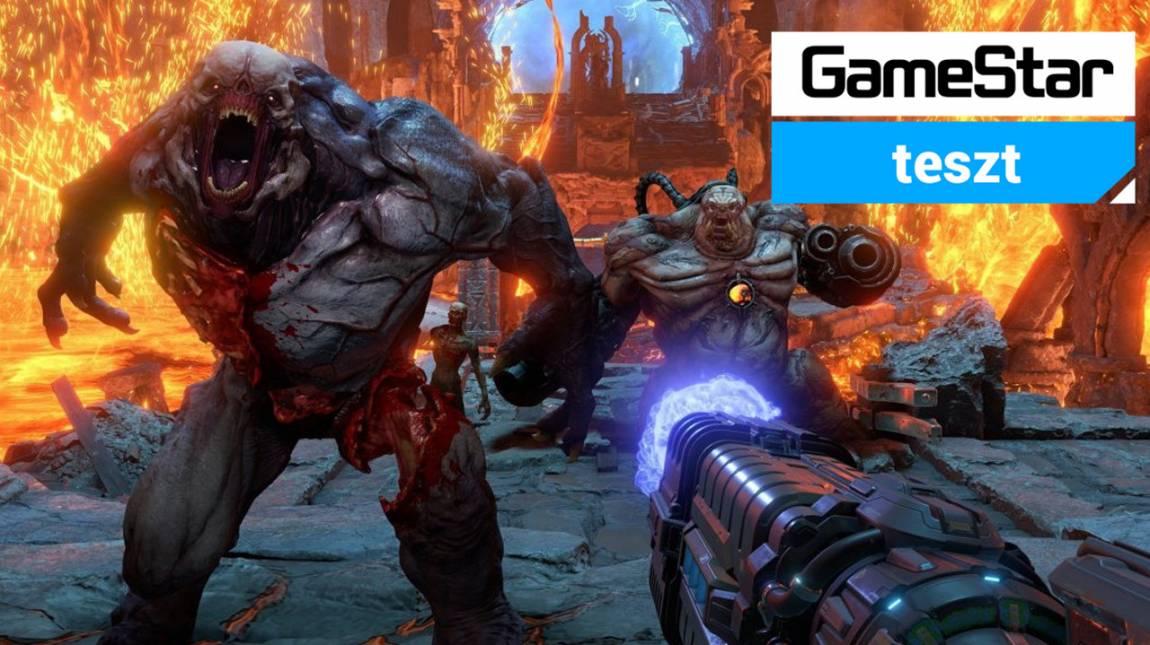 Doom Eternal teszt - gyere és tépj szét! bevezetőkép
