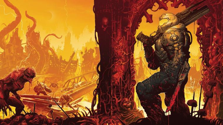 Doom Eternal Livestream - üdvözöl a pokol bevezetőkép