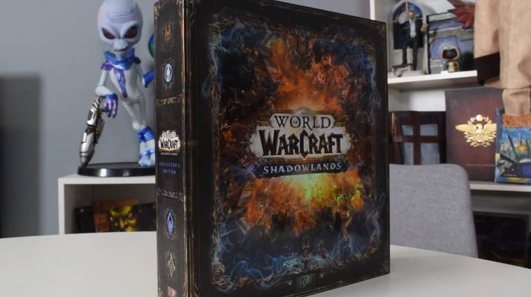 Kibontottuk a World of Warcraft: Shadowlands gyűjtői kiadását! bevezetőkép