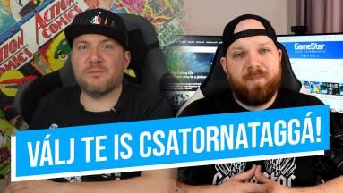 Akarsz a GameStar YouTube csatorna tagja és támogatója lenni? kép