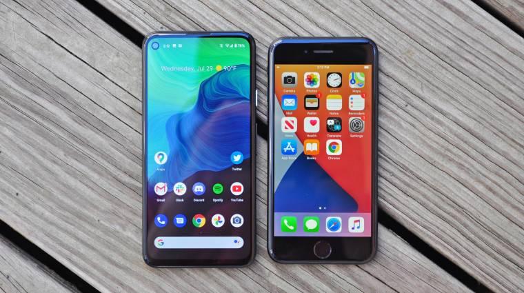 Szavazz: lecserélnéd androidos telefonodat, ha kapnál helyette egy ingyen iPhone-t? kép