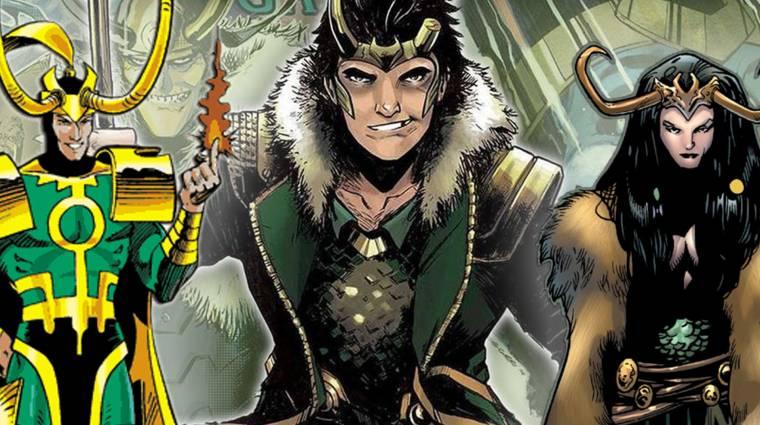 Volt már nő és tinédzser is, ideje megismerni az ezerarcú Lokit bevezetőkép