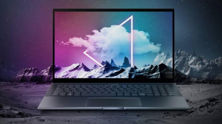 Az ASUS Zenbook Pro 15-ben nincs semmi különleges, és pont ez benne a jó kép