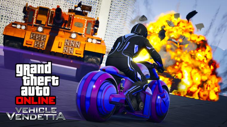 Grand Theft Auto V - újabb motoros cuccok érkeztek bevezetőkép