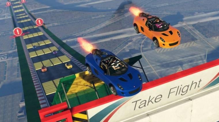 Újabb kocsikkal és pályaelemekkel bővült a GTA Online kaszkadőrmódja bevezetőkép