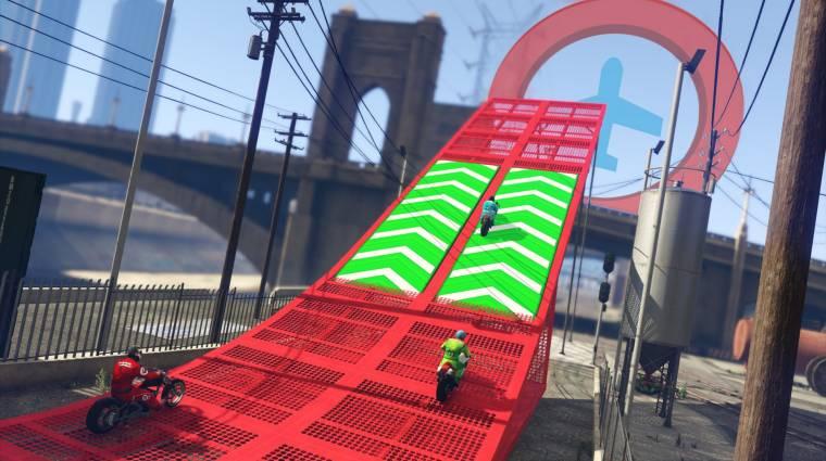 Grand Theft Auto Online - megjöttek a járműváltós versenyek bevezetőkép