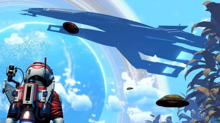 A No Man's Sky-ba is befutott a Mass Effect űrhajója bevezetőkép