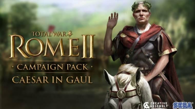 Total War: Rome 2 - érkezik a Caesar In Gaul DLC bevezetőkép