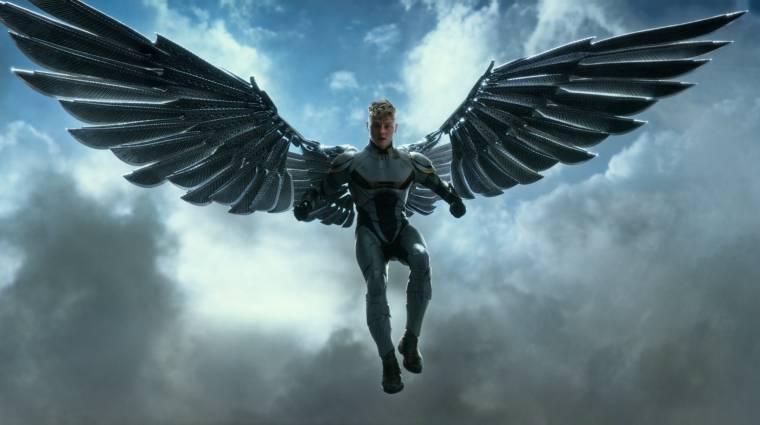 X-Men: Apokalipszis - Árnyék vs. Angyal ketrecharc jelenet kép