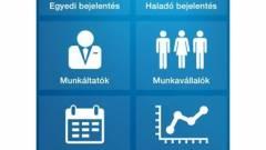 Foglalkoztatás bejelentő app a NISZ-től kép