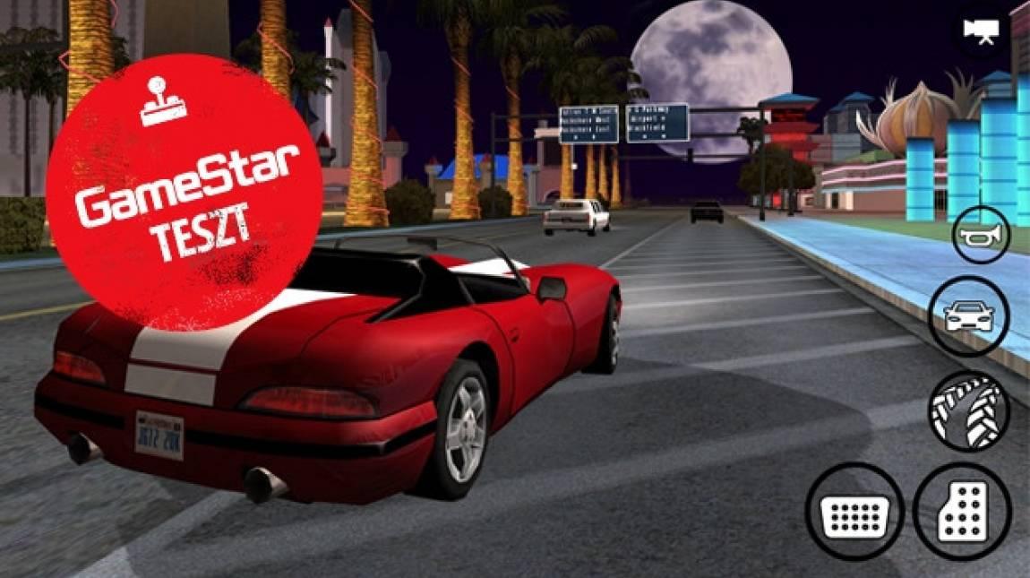 Grand Theft Auto: San Andreas mobil teszt - zsebgengszterek bevezetőkép