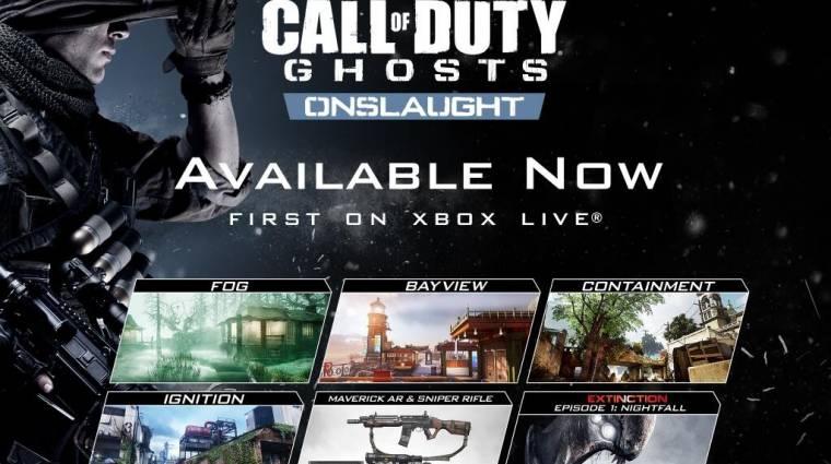 Call of Duty: Ghosts Onslaught - már PS3-on és PC-n is bevezetőkép