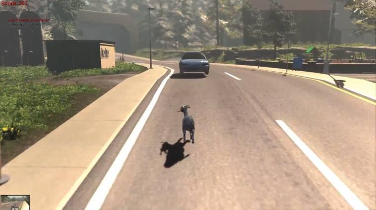 Goat Simulator 2014 - a kecskeszimulátor, amit azonnal akarunk (videó) bevezetőkép