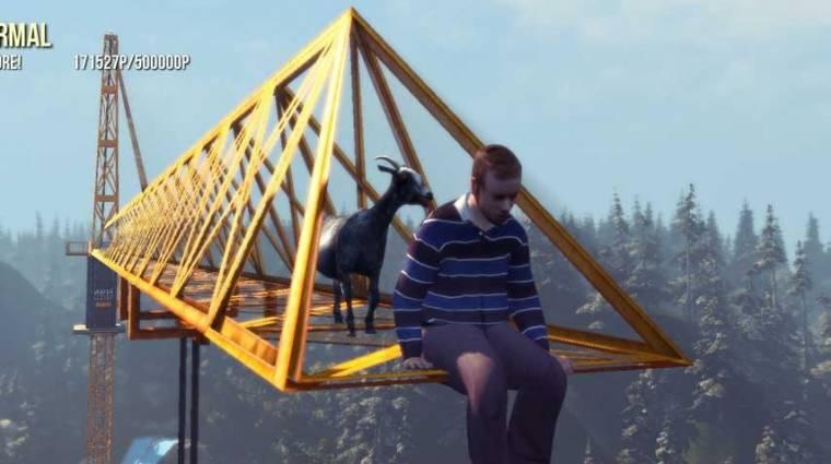 Goat Simulator - elég meredek a sztorija bevezetőkép
