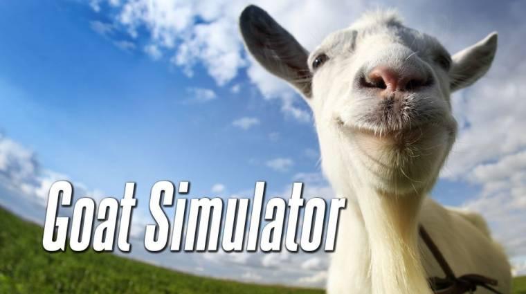 Goat Simulator - négy kecske egy városban bevezetőkép