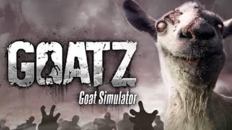 GoatZ - DayZ DLC-vel bővül a Goat Simulator bevezetőkép