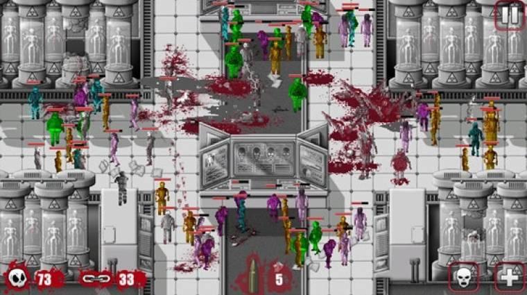 OMG HD Zombies - a beteg zombis játék a Steamre költözik bevezetőkép