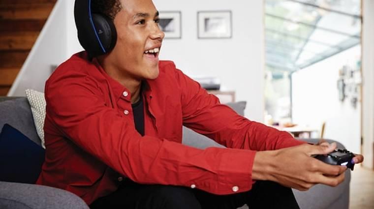 PlayStation 4 - durva lesz a hivatalos vezeték nélküli headset  bevezetőkép