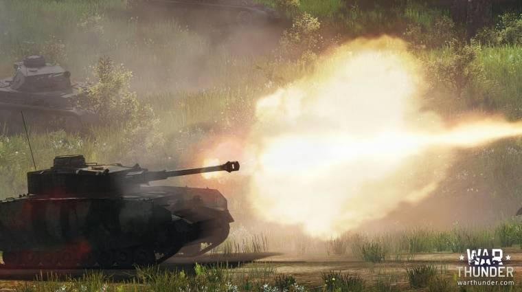 War Thunder Ground Forces - jönnek a tankok bevezetőkép