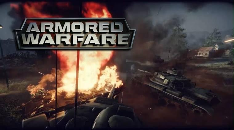 Armored Warfare - Early Accessen az Obsidian tankcsatája (videó) bevezetőkép