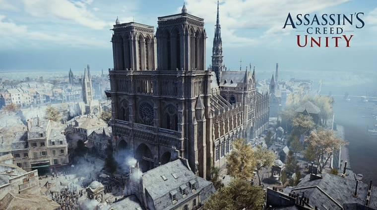 A Ubisoft virtuális túrát tartott a Notre-Dame-ban bevezetőkép
